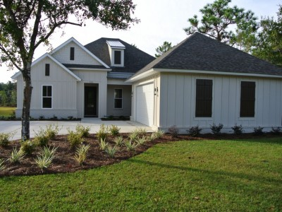 Bayberry. Front Elevation. Peninsula