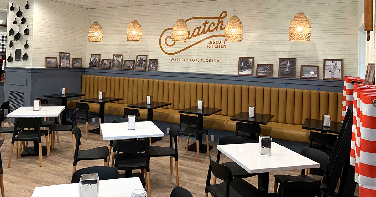 Highland Group Completes New Watercolor Eatery